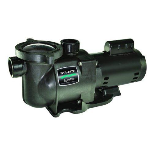 Pentair Sta-rite N1-1-12a Hp Supermax Standard Efficient Single Speed High Performance Inground Pool Pump 1-
