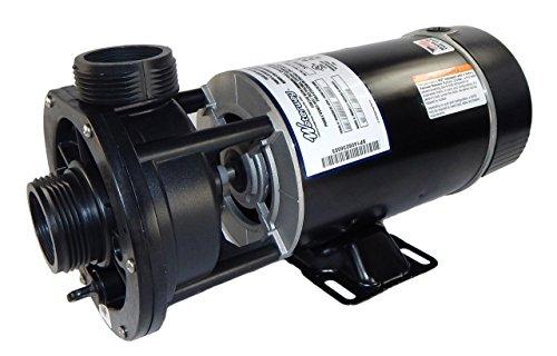 Waterway Plastics 3410310-15 34 hp 115V 1-Speed Spa Pump 15 inch Center Discharge