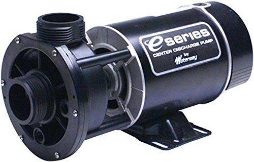 Waterway Plastics 3410410-15 1 hp 115V 1-Speed Spa Pump 1 2 Center Discharge