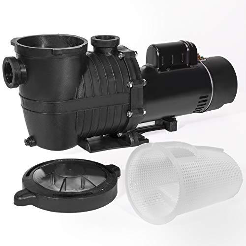 XtremepowerUS 75039-2 2Hp Dual Speed 230V Swimming Spa Ground Pool Pump Black