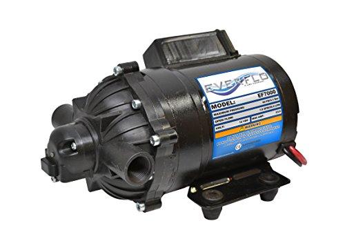 Everflo EF7000-BOX 70 GPM 12V Diaphragm Pump-12 FNPT Connection