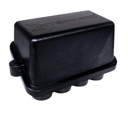 Intermatic PJB4175 Junction Box 4-Light Black