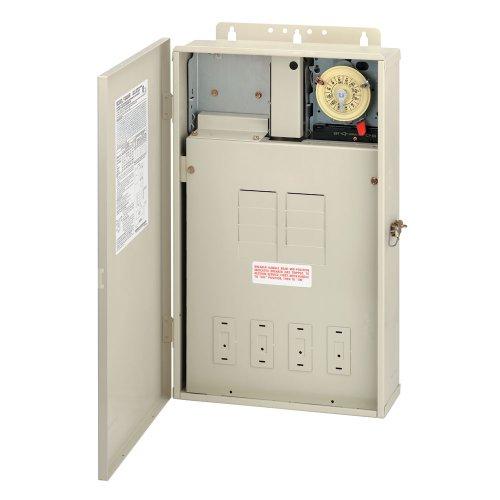 Intermatic T40004R PoolSpa Control Panel T104M DPST Color