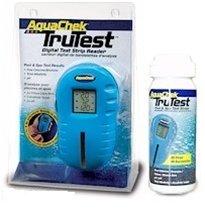 Aquachek 2510400 Trutest Digital Pool Spa Test Strip Reader with 25 Strips