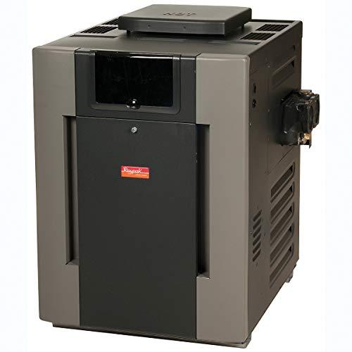 Raypak 009223 406k BTU Electronic Ignition Natural Gas Digital Pool Heater