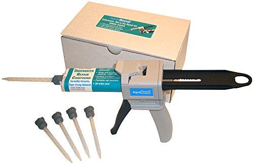 AQUABOND Underwater Pool Repair Epoxy Kit for Swimming Pools and Spas - DMK-5000 50ml Kit Off-White