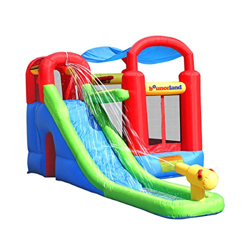 Inflatable Water Slide Outdoor Birthday Party Jump Kids Child Fun Explore Play