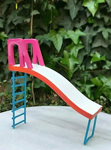 Miniature Dollhouse FAIRY GARDEN Accessories ~ Mini Swimming Pool Slide Miniature fairies houses animals trees and flowers