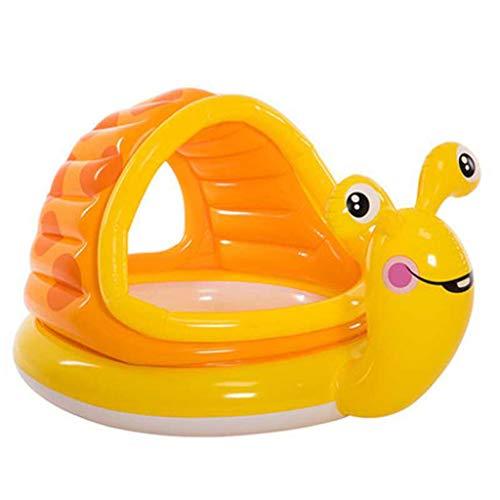 SYYC Swimming Pool Fishing Pool Inflatable Ocean Pool Baby Pool Baby Pool Household Swimming Pool with Slide145x102x74cm