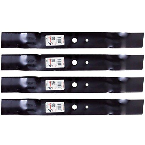 4PK Lawn Mower Blades for 42 John Deere L100 L105 L107 L108 L110 L111 L118 GX20249 GX20433 GY20567