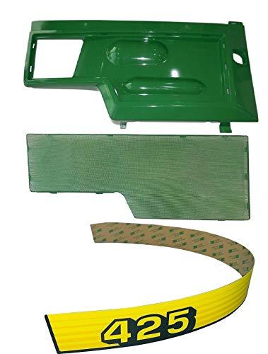 RH Side PanelScreenSticker Set AM128982 M116020 Fits John Deere 425 UP SN
