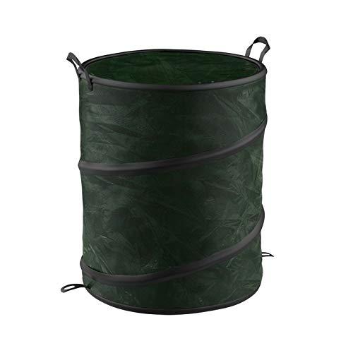MB-Gardenstar Pop-Up Trash Can for Mower Bag Grass Leaf Waste Bin Yard Work Garbage 44 Gallon