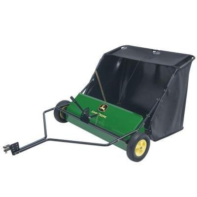 John Deere 42 in 24 cu ft Tow-Behind Lawn Sweeper