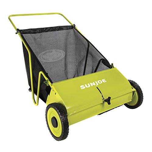 Sun Joe SJSW26M Manual Push Lawn Sweeper 26