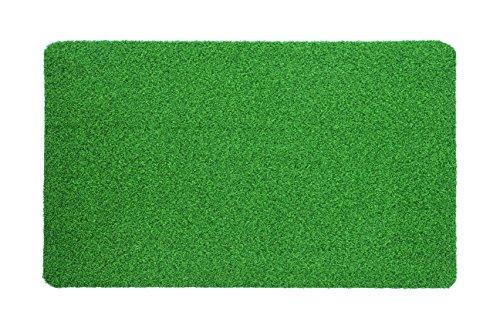 30X18Heavy Duty IndoorOutdoor Green Artificial Grass Turf Carpet Rug