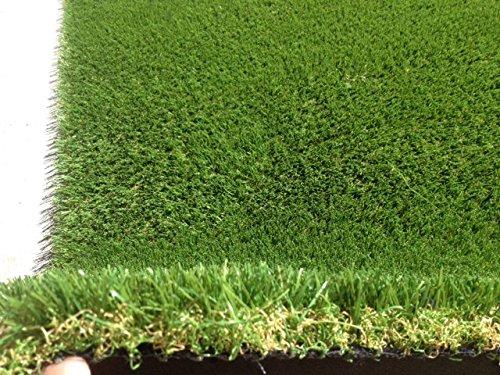 6 feet X15 feet Rye Fescue Light 87 Oz Artificial Grass