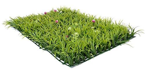 Artificial Grass Garden Decoration Lawn 3D Wall StickersArtificial Green Grass Wall Background Decoration 16in x 24in CP03
