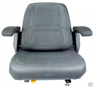 Charcoal Gray Seat Bunton Bobcat Dixie Snapper Toro Exmark Zero Turn Mower