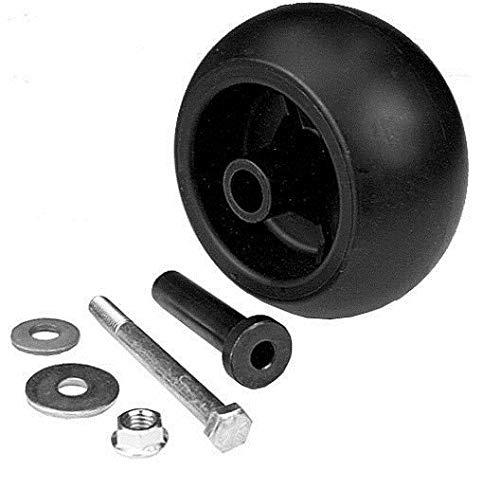 H0MEpartss 2 Pack Exmark Zero Turn Mower Deck Wheel Kits 109-3168 Lazer Z