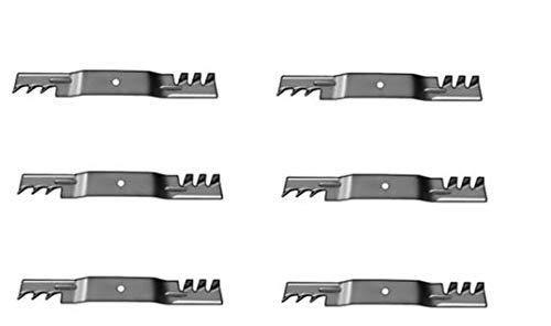 H0MEpartss 2 Sets Grasshopper Mower 61 Deck Mulch Blades - 321D 322D 325D 428D 430D