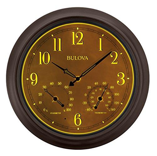 Bulova Weather Master Outdoor Wall Clock