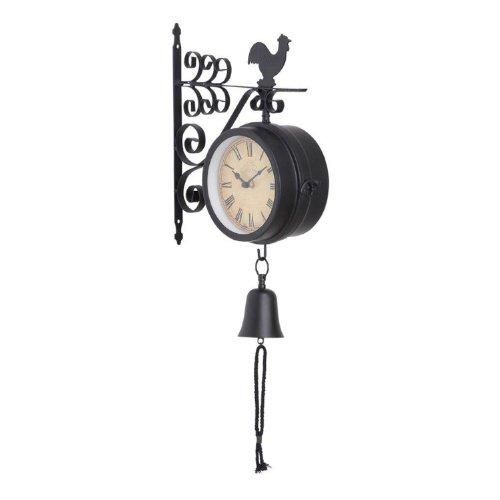 ORE International 35412 Weatherproof Outdoor Wall Clock