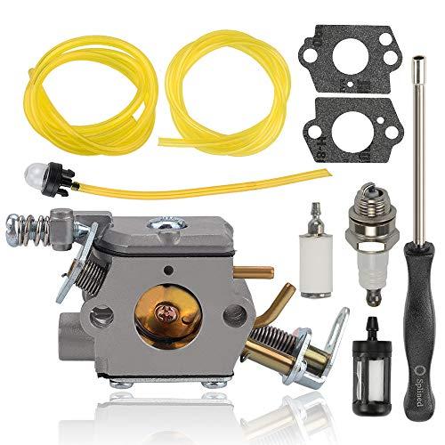 Alibrelo C1M-H58 Carburetor for Homelite UT-10550 UT-10927 UT-10942 UT-10946 UT-10522 UT-10526 UT-10519 38cc 45cc 46cc Ryobi RY10518 RY10519A RY10520 RY10521A Chainsaw Replace 309364001 309360001