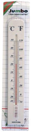 Jumbo IndoorOutdoor Wall Thermometer