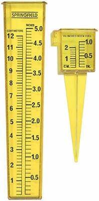 Springfield Precision 90107 2PC Sprinkler Rain Gauge