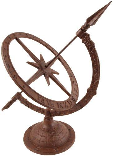 Esschert Design Small Cast Iron Sundial TH38