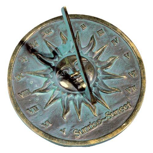 Rome Rm2370 Brass Sunrisesunset Sundial