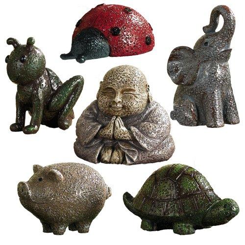 Grasslands Road Garden Figurines 2-Inch Set of 12