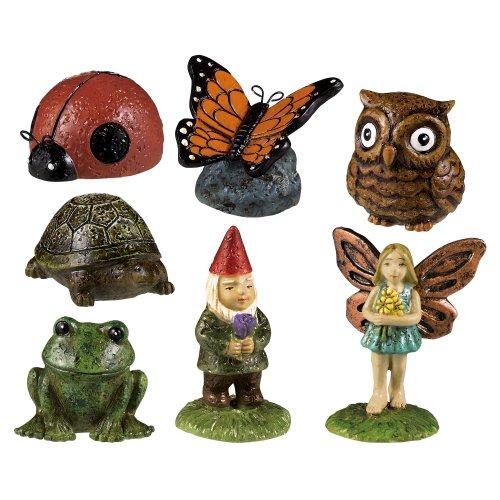 Grasslands Road Miniature Garden Figurine Assortment 1-Inch 14-Pack