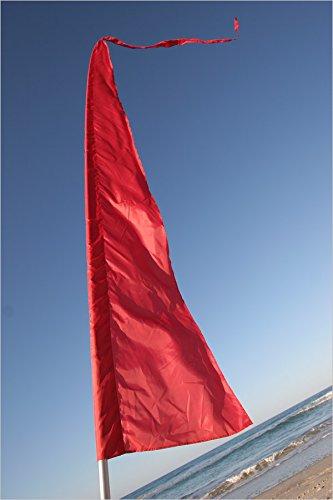Festival Flags For Festivals Advertising Gardenamp Schools ~ 16 Feet Tall Parachute Silk Blue Green Pink