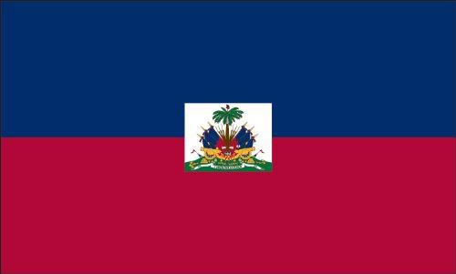 Americas Flag Company FF5X8NHAI1 5-Foot by 8-Foot Nylon Haiti Flag