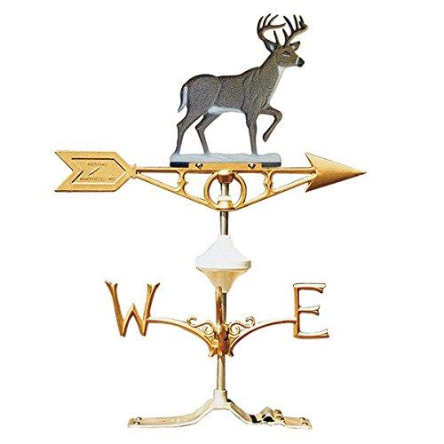 Robbins Painted Whitetail Deer Weathervane