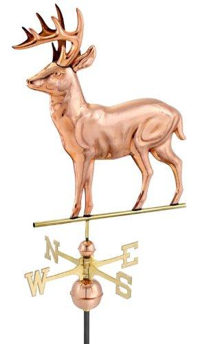 Standing Deer Weathervane 22x27 inch h