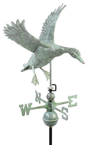 Good Directions 9605V1 Landing Duck Weathervane Blue Verde Copper