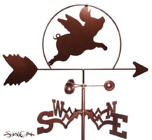 SWEN Products FLYING PIG Weathervane