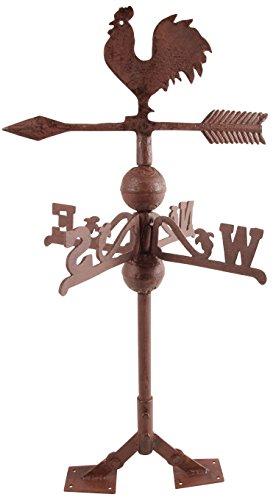 Esschert Design USA WV10 Cast Iron Rooster Weathervane