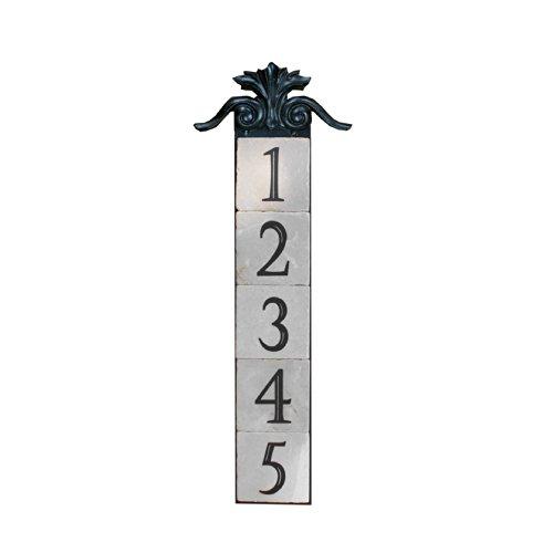NACH KA-LARGE CREST-5 House AddressNumber Sign Plaque