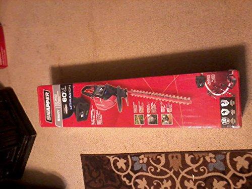 Snapper Sh60v 60v Hedge Trimmer Includes 2ah Battery And Charger