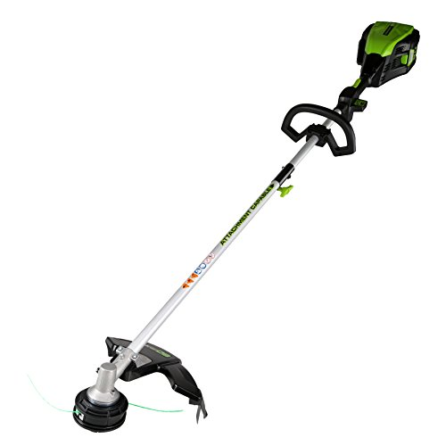 GreenWorks Pro GST80320 80V 16-Inch Cordless String Trimmer Attachment Capable Battery and Charger Not Included