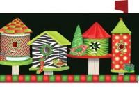 Christmas-Birdhouses-Zebra-1724mm-Magnetic-Mailbox-Cover-Wrap6.jpg