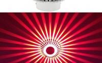 HuntGold-Home-Lighting-LED-3W-Porch-Decor-Wall-Lamp-Aluminum-Sunflower-Flush-Ceiling-Light-Red-34.jpg