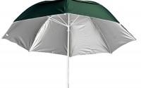 Clamp-on-Fiberglass-Beach-Rain-Umbrella-w-Vent-UPF-50-Forest-Green-Outside-37.jpg